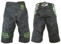 Wholesale hot sale Motorcycle Motorcross MTB Racing Moto Shorts Mountain Bicycle Bike Biker Cycling MTB BMX DOWNHILL Sports Pants With Pads