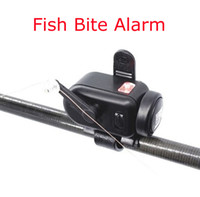 Wholesale Newest Volume and Sensitivity Adjustable Fish Bite Alarm Fishing Bait Alertor Fishing Rod Signal Device