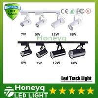 Wholesale Whlosesale Lighting furniture for clothing store w high power led track light V V white for clothing shop light