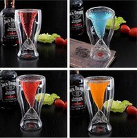 Wholesale 2015 Hot Mermaid Transparent Glass Cup Novelty Cup Wine Glass Coffee Glass Juice Glass Party Christmas Wedding Glass