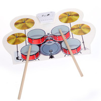 Wholesale 2016 Real Direct Selling Usb Silicone Drums Electronic Drum with Drumsticks Rollable christmas electronic Musical Instruments