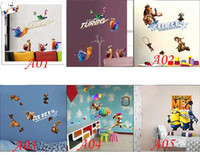 age live - High Quality Cheapest Price Promition Despicable Me Ice Age Removable Wall Stickers Wallpaper Bedroom Livingroom Decoration Drop Shipping