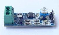 audio terminal block - 2pcs LM386 audio amplifier module with speaker terminal blocks