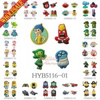 Wholesale 100PCS Despicable Me Littly Pony Batman Cartoon Fridge Magnets Magnetic Stickers Blackboard Refrigerator Magnets School Supply Children Toys