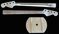 Maple Wood bass guitar neck - Maple Wood Fret Basses Guitar Neck Suitable For Strings Basses Clear Satin