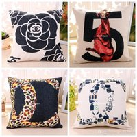 Wholesale Home Decorative Sofa Cushion Cover Right And Wrong Symbol Question Mark Pillow Case Gift Throw Pillows Soft Cushion Covers x45cm