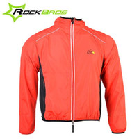 Wholesale ROCKBROS Tour de France Cycling Sports Unisex Riding Breathable Reflective Jersey Cycle Clothing Long Sleeve Raincoat Jacket Color