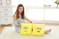 Wholesale EMS freeshipping Despicable Me Minions Pillow Minions little soldiers face plush pillow