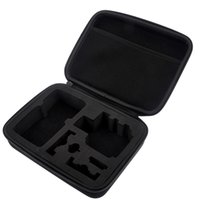 Wholesale Shockproof EVA Protective Camera Case Bag for Gopro HD Hero Accessories M Black ST D1003M