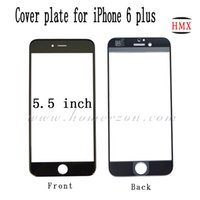 Wholesale OEM High Quality Front Lens Phone Glass Cover Plate For iphone plus lcd touch panel screen protector