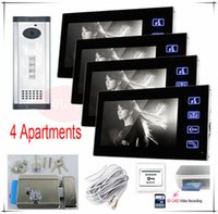 apartments photos - SD CARD Video recording Take photos video door phones for Apartments Electronic control lock