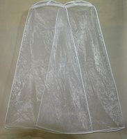 Wholesale 2015 Wedding Dress Gown Bag Garment Cover Travel Storage Dust Covers Bridal Accessories For Bride In Stock cm