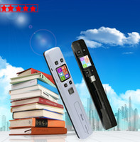 Wholesale Double Roller Scanner iScan HD Portable DPI High Resolution Rechargeable Scanner Held Mini Scanner Great Helper