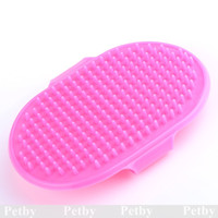 Wholesale Pet Puppy Dog Brush Grooming Cleaning Massage Removal Glove Bath Comb Hair Dog Cat