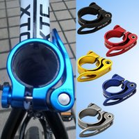 Wholesale New GUB CX Aluminum Alloy Bicycle Bike Seat Post Clamp QR Quick Release Bicycle Seat Post BHU2