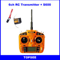 rc transmitter - ORX G CH RC Transmitter Receiver Radio with Receiver Surpass DX6i DSM2 DSMX AR6210 JR FUTABA for Helicopters Airplane Quadcopters