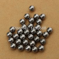 ball bearings bicycle - 240pcs mm Dia Durable Bicycle Stainless Steel Ball Bearing Silver Tone Bikes Replacement Slingshot Ammo Smooth Surface