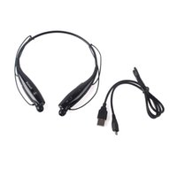 Wholesale Universal Wireless Bluetooth Handsfree Headset Earphone HBS for Cellphones such as iPhone Nokia HTC Samsung LG Moto PC iPad PSP