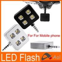 Wholesale For Mobile phone iphone samung IBLAZR mini led video light for smartphone Selfie Using Sync LED Flash led canon camera selfie light black