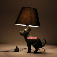 Wholesale new product modern resin lamp cute puppies Zodiac simple fashion decorative lighting lamp