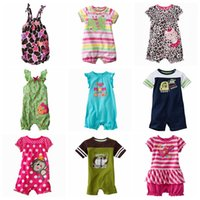 Wholesale 20pcs baby romper kids Rompers jumping beans baby boys Girls bodysuit baby jumpsuit baby clothes