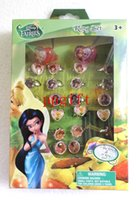 Cheap 2014 new arrive High quality Cartoon Tinker bell Rings 4 box 120 pcs Free Shipping