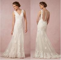 Beautiful Lace Empire Waist Wedding Dress Images - Styles & Ideas ...