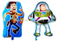 balloon stories - Buzz Lightyear and woody captain balloon for toy story party decoration toy story balloons for birthday party globos
