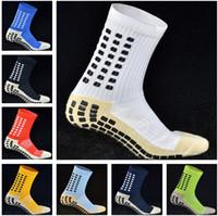 Wholesale Top Quality AAA Anti Slip Keesox Soccer Socks Trusox Mid calf Cotton Football Socks Calcetin de futbol Meias Calcetines Football Socks