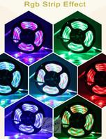 Wholesale 5050 M RGB Warm White White Red Green Blue Yellow LED Strip Light Waterproof M Leds V LED Patay Christmas Lighting Home