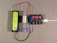Cheap 18650 li-ion lithium lead-acid Battery Capacity Meter discharge Tester 1.5v~12v free shipping