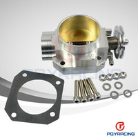 Wholesale PQY STORE NEW THROTTLE BODY FOR HONDA B16 B18 D16 F22 B20 D B H F THROTTLE BODY MM EF EG EK DC2 H22 D15 D16