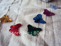 Wholesale 22 MM Mixed Colors Butterfly Pvc Sequins Spangle Paillette Spinnerbaits Jewelry Garment Accessory