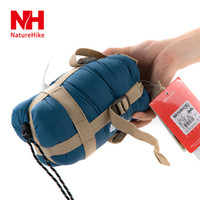 Wholesale Hot sale NatureHike Mini Ultralight Multifuntion Portable Outdoor Envelope Sleeping Bag Travel Bag Hiking Camping Equipment g Colors