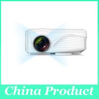 Wholesale X9 HD P PC TV VGA HDMI Home Cinema Theater Multimedia LED LCD mini Projector with HDMI USB AV VGA
