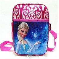 Wholesale 2014 New Frozen Bags Kids Backpacks Handbags Children School Bags Kids Shopping bags Present frozen