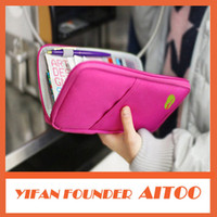 best travel card - Best selling Fashion New Travel Passport Credit ID Card Pouch Holder Organizer Wallet Purse Case Bag Multicolor bags