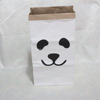 Wholesale monpetit zoorol large kraft paper bag kraft children baby toys storage kraft paper bags Kids toys home storage household sundries storage