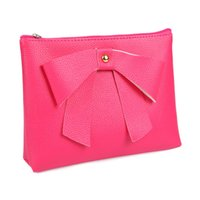 Wholesale Fashion Women Cosmetic bag kawaii Candy color makeup bag Lady Travel Cosmetic Pouch Bag X006