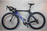 Wholesale mould black blue glossy CIPILLION RB1000 full carbon fiber racing complete road bike carbon bike