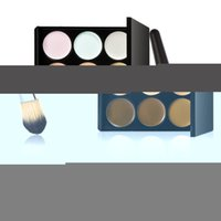 affordable professional makeup brushes - new hotest colors professional party concealer contour face cream foundation plus a makeup brush the most affordable BOB