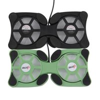 Wholesale USB Mini Octopus Laptop Notebook Fan Cooler Cooling Pad Folding Coller Fan