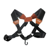 Wholesale French Style Saxophone Shoulder Strap Genuine Leather neck Shoulder Straps Sax Hanging Belts
