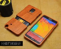Cheap Real Solid Wood wooden phone case Hard back cover for Samsung Galaxy S5 S6 S6 edge Note 3 Note 4