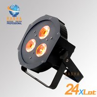 american bright lighting - 24X NEW HOT American DJ Light Ultra Bright LED Flat Par38 Wash Fixture With ps W Tint IN RGBAW LEDS