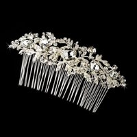 bella flower - 2015 hot sell New Bella Flower Rhinestone Bridal Hair Comb Clip Pin Pieces Wedding Austrian Crystal Accessories Jewelry Bride Bridesmaid Bea