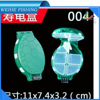 Wholesale High quality cm folding double plastic fishing lure tackle boxes accessories tool box