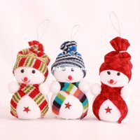 Wholesale Snowman for Christmas decorations Christmas tree ornaments Festive Party Supplies kid s toy gift