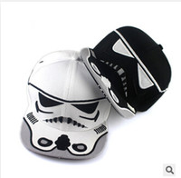 Wholesale 2 Design Star Wars Baseball Cap New Embroidery Men Women Fashion Sun Hats Adjustable Snapback Hip Hop Dance Hat Dhgate Cap