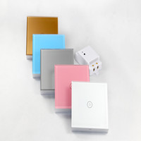 Wholesale New arrival Wireless Remote Control Light smart Touch Switch
